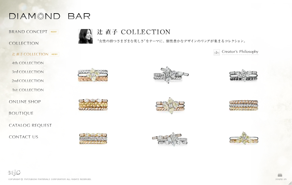 DIAMOND BAR 5th Collection